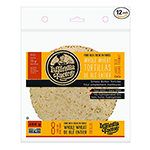 "7"" La Tortilla Factory Whole Wheat Low Carb Tortillas [pack of 2]"