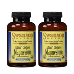 Swanson Chelated Magnesium Glycinate 133 Milligrams