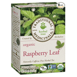 Organic Raspberry Leaf Herbal Tea - several size options available