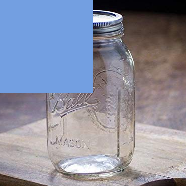 Ball Jar with Lid and Band - Pick Your Size and Color (Clear, Wide Mouth Quart - 32 oz.)