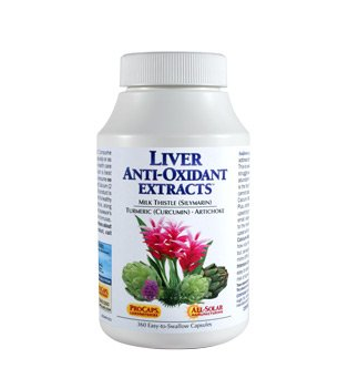 Liver Anti-Oxidant Extracts 120 Capsules